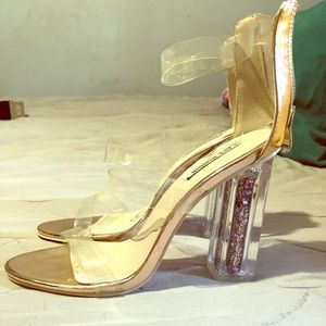 Clear/ transparent heels 👠